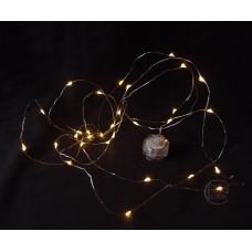 材料-LED 防水銅線燈 (黃燈)