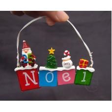 聖誕-掛飾-Noel字樣