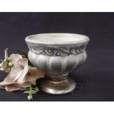 Clay 花器 170-744-725 香檳銀