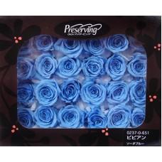 盒裝不凋花-大地農園 玫瑰(藍)