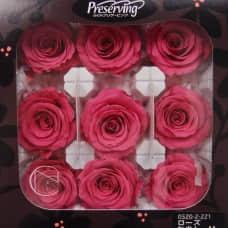盒裝不凋花-大地農園 玫瑰(桃)