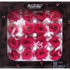 盒裝不凋花-玫瑰(桃)