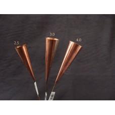 工具-日本銅製受筒-中 3.0cm