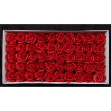 三層玫瑰香皂花頭 大紅 零售