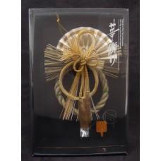 新年-日本注連繩吊飾-金