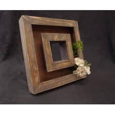 木框花器(咖)
