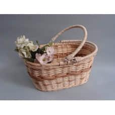 提籃編織花器
