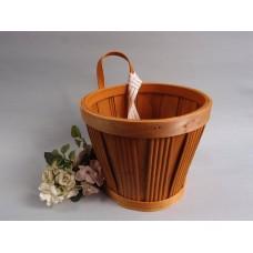 木片提籃花器(中)