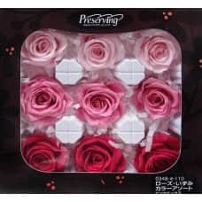 盒裝不凋花-玫瑰(漸層粉)