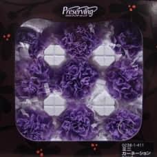 盒裝不凋花-大地農園 Mini Carnation9輪(薰衣草紫)