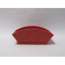 其他材質-花器 扇形格紋LG140R