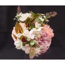 人造花-璀璨玫瑰花12(橙)