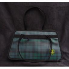 工具袋-黑綠方格紋