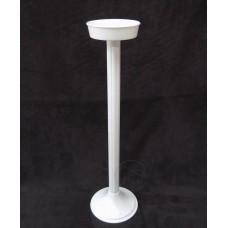 塑膠花器-小四節(白)