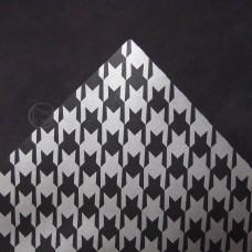 包裝-布紋包裝紙-千鳥格(銀黑)