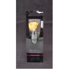 不凋花-Florever 單枝玫瑰 FL072-17 (黃)