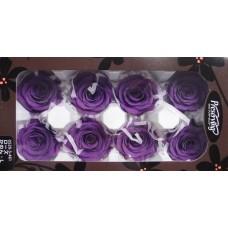 盒裝不凋花-大地農園 玫瑰(深紫)