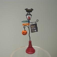 萬聖節-5EH188南瓜路燈小擺飾