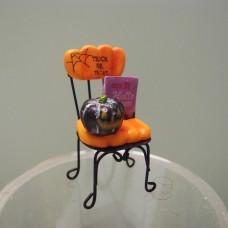 萬聖節-EKH462 南瓜椅子小擺飾