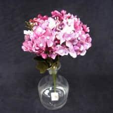 人造花-10頭小繡球(紫)