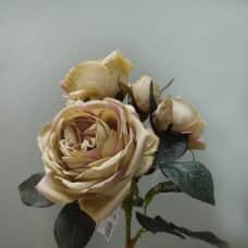 人造花-MAGIQ FM009447-023 Verse Rose 詩句玫瑰 Dusty Green