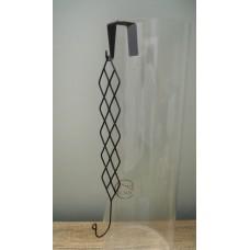 縷空-NATURE DESIGNS 花器40359Iron Wire Hanger菱黑