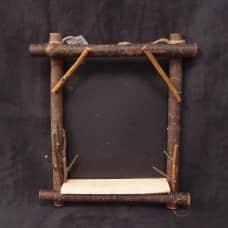 原木花器-ZG17481B木製黑板