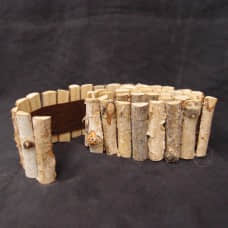 樺木圍籬素材