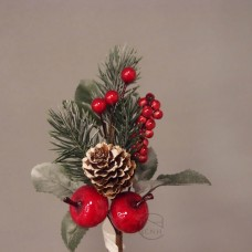 聖誕-花插 TH07-6617 Fruits Pick