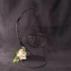 鐵花器-懸掛籃架