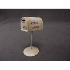 擺飾-信箱(白)
