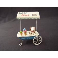 擺飾-小狗冰淇淋攤