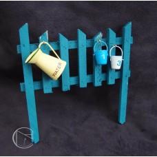 擺飾-籬笆(藍)