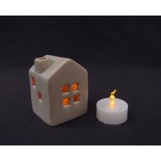 擺飾-LED燈小房子
