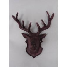 壁飾-鐵製鹿頭