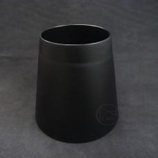 塑膠-圓喇叭筒(黑)