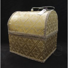 其他材質-花器ASCA AX69341-001寶箱盒(米)