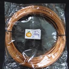 彩色鋁線-1.5mm(銅色)