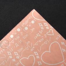 包裝-愛心(橘粉色)-零售