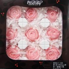 盒裝不凋花-大地農園 Rose Parisienne S Hanairo9輪(粉)