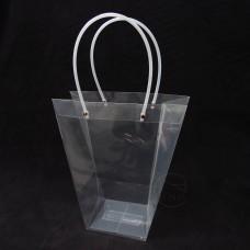包裝-提袋 透明花袋T型