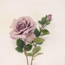 人造花-韓式菲蝶玫瑰(淡紫)