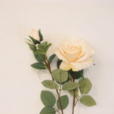人造花-韓式菲蝶玫瑰(淡橘)