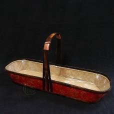 木製-M062紅布古典籃-大