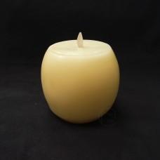 蠟燭-Luminara LED擬真香氛蠟燭 象牙白酒桶香草