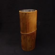 原木花器-單格筒 寸筒