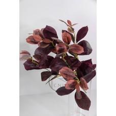 人造葉 7頭橡葉 紫紅