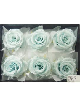 盒裝不凋花-大地農園 Full Bloom Rose L6輪Baby Blue