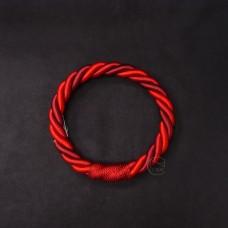 ASCA 裝飾A-72136-002繩花圈紅