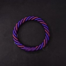ASCA 裝飾A-72136-007繩花圈紫色